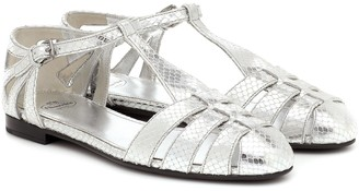 Church's Rainbow metallic leather sandals
