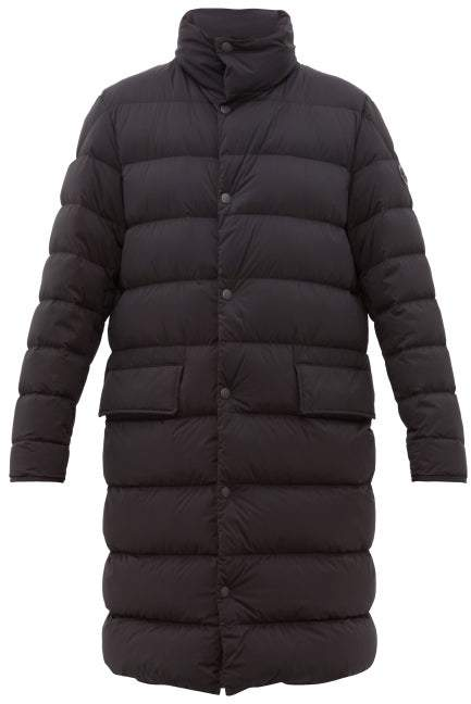 b4a992673 Brassens Long Quilted Down Coat - Mens - Black