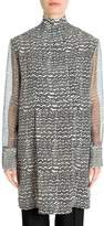 Valentino Women's Graphic Waves Silk Tunic