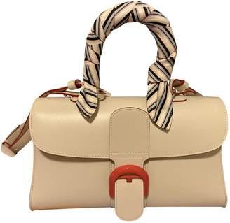Delvaux Le Brillant White Leather Handbags