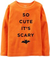 Carter's Cute & Scary Tee (Baby) - Orange-3 Months