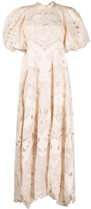 Zimmermann Lovestruck embroidered maxi dress