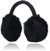 Hat Attack WOMEN'S FUR EARMUFFS-BLACK