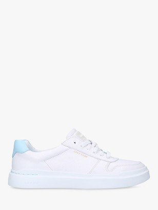 Cole Haan Women's GrandPr Rally Court Flatform Trainers, White