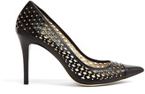 MICHAEL Michael Kors Farrow Studded Laser-cut Pointed Court Shoes