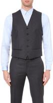 The Kooples Satin-back wool waistcoat