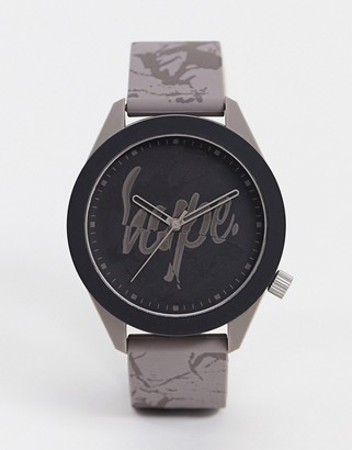 Hype marble strap watch