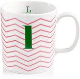 "The Cellar Chevron Initial Mug Collection ""L"" Mug"