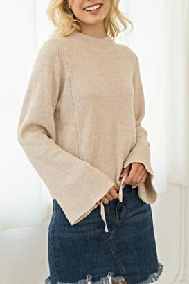 Hem & Thread Bell Ties Sweater