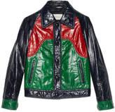 Gucci Multicolor eel jacket