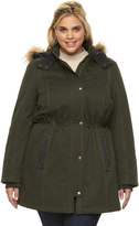 Apt. 9 Plus Size Hooded Anorak Parka