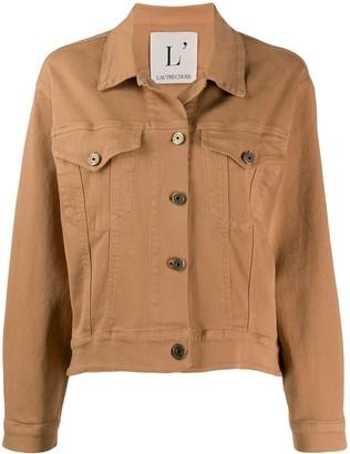 L'Autre Chose cotton bomber jacket