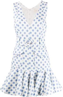 Zimmermann Polka-Dot Print Dress