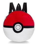 Pokemon Fab Pokeball Plush Backpack- Boys One Size