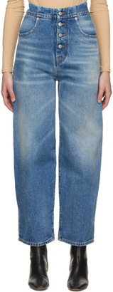 MM6 MAISON MARGIELA Blue Carrot Jeans