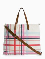 Splendid Plaid Emerald Bay Tote