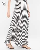 Chico's Striped Maxi Skirt