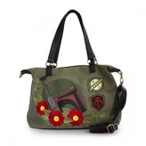 Loungefly x Star Wars Boba Fett Twill Crossbody Bag