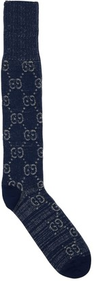 Gucci Gg Cotton Jacquard Socks
