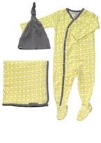 Petunia Pickle Bottom 'Snuggle' Footie, Blanket & Hat Set (Infant)