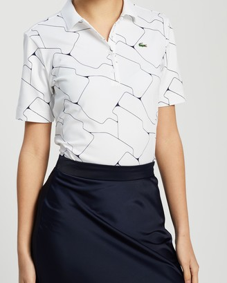 Lacoste Golf Technical Stretch Jersey Polo