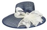 Nordstrom Women's Asymmetrical Sinamay Derby Hat - Ivory