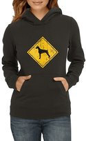 Idakoos - Doberman Pinscher SIGN OLD VINTAGE - Dogs - Women Hoodie