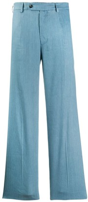 Mrz Flared High-Waisted Trousers