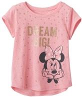 "Disney/Jumping Beans Disney's Minnie Mouse Toddler Girl ""Dream Big"" Foiled Tee by Jumping Beans®"