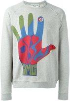 YMC 'hand' print sweatshirt