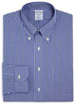 Brooks Brothers Dobby Gingham Classic Fit Dress Shirt