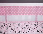 Disney Minnie Mouse Hello Gorgeous Secure-Me Mesh Crib Liner