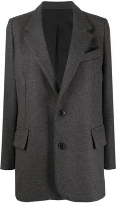AMI Paris Single-Breasted Tailored Blazer