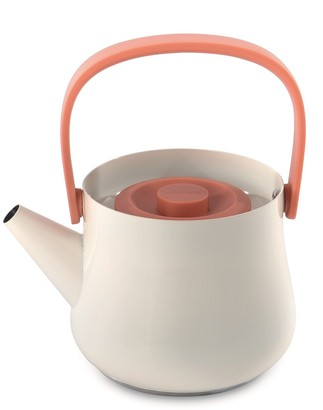 Berghoff Orange Ron 1.1 qt. Stainless Steel Teapot with Strainer