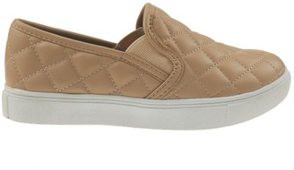 Goodnight Macaroon 'Queen' Quilted Faux Leather Slip-on Sneakers (4 Colors)