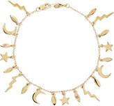 Andrea Fohrman 14-karat Gold Sapphire Bracelet - one size