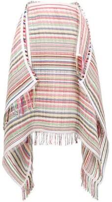J.W.Anderson striped scarf skirt