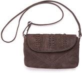 Toms Chocolate Soft Suede Cadence Crossbody Bag