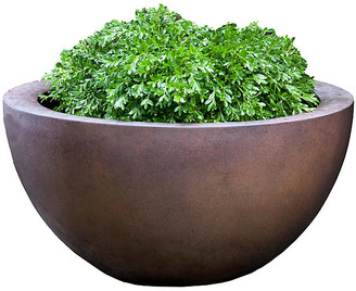 "Campania International 25"" Piccadilly Outdoor Planter - Rust"