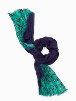 Kate Spade Plume oblong scarf