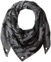 Steve Madden Camo Stars Triangle Blanket Wrap Scarves