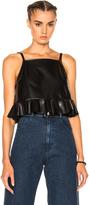 Rachel Comey Plano Leather Top