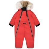 Canada Goose Canada GooseRed Down Padded Baby Snowsuit