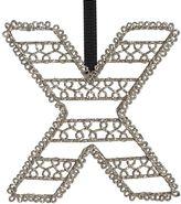 Wire Letter Ornament, X