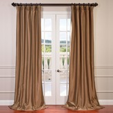Eff EFF Blackout 1-Panel Faux Silk Taffeta Window Curtain