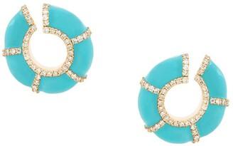 Nevernot Embellished Pendant Earring