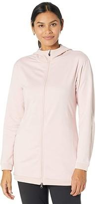 Asics Thermopolis Fleece Full Zip Hoodie (Ginger Peach) Women's Clothing