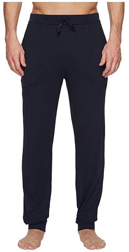 Hugo Boss BOSS Mens Mix/&Match Lounge Jogger Navy with Red