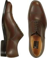 Moreschi Londra - Dark Brown Calfskin Cap Toe Oxford Shoes