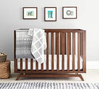 west elm Lennox Convertible Crib - Walnut